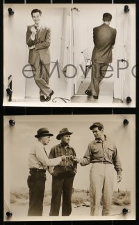 3a692 ROBERT RYAN 5 8x10 stills 1950s-1970s cool portraits of the star from a variety of roles!