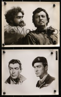 3a406 ROBERT TAYLOR 9 8x10 stills 1940s-1950s the leading man in different roles!