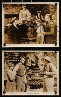 3a615 ROMANCE OF ROSY RIDGE 6 8x10 stills 1947 introducing young Janet Leigh, Van Johnson!
