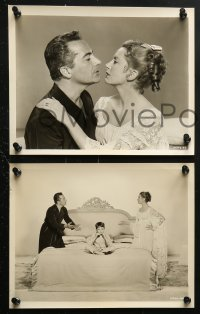 3a482 ROSSANO BRAZZI 8 8x10 stills 1950s great images with Deborah Kerr, June Allyson and more!