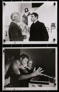 3a210 SELLOUT 15 8x10 stills 1977 Oliver Reed, Richard Widmark, Gayle Hunnicutt, great images!