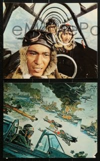 3a002 TORA TORA TORA 14 color 8x10 stills 1970 great images of the attack on Pearl Harbor!