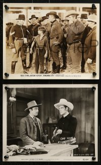 3a606 NORMAN WILLIS 6 8x10 stills 1940s-1950s with Randolph Scott, Starrett, Hall and more!