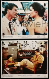 3a034 YEAR OF LIVING DANGEROUSLY 8 8x10 mini LCs 1983 Peter Weir candid, Mel Gibson, Aussie classic!