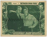 3b348 ADVENTURES OF FRANK MERRIWELL chapter 9 LC 1936 Don Briggs & Dusty King, Between Savage Foes!