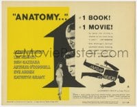 3b037 ANATOMY OF A MURDER style A TC 1959 Otto Preminger, James Stewart, Lee Remick, Saul Bass art!
