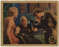 3b364 BIG TIMER LC 1932 boxer Ben Lyon & pretty Thelma Todd with hard-of-hearing rich old lady!
