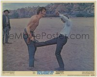 3b375 BUTCH CASSIDY & THE SUNDANCE KID LC #7 1969 no rules in a fight scene w/ Cassidy & Newman!