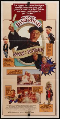 3c233 BACK TO SCHOOL Aust daybill 1986 Rodney Dangerfield goes to college with his son, different!