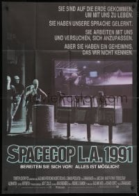 3c584 ALIEN NATION German 33x47 1989 they've come to Earth to live among us, they learned our language!