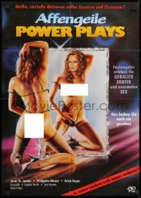 3c677 AFFENGEILE POWER PLAYS German 1980s Jesie St. James, Bridgette Monet, different and sexy!