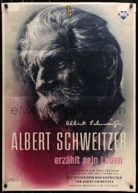 3c678 ALBERT SCHWEITZER German 1957 the most idealistic doctor of the 20th century!