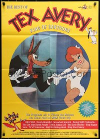 3c692 BEST OF TEX AVERY German 1980s the Wolf leers at Red Hot Riding Hood, Droopy!