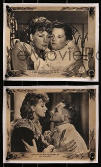3c013 ANNA KARENINA 4 South American LCs 1935 Greta Garbo, Fredric March, Freddie Bartholomew!
