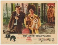 3d148 IRMA LA DOUCE signed LC #1 1963 by Billy Wilder, great c/u of Jack Lemmon & Shirley MacLaine!!