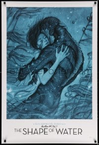 3d001 SHAPE OF WATER signed heavy stock 27x40 special poster 2017 by Guillermo del Toro, Jean art!