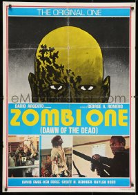3f043 DAWN OF THE DEAD Lebanese 1979 George Romero, the original one, cool art and images, rare!