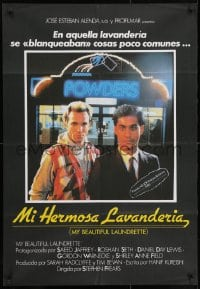 3f078 MY BEAUTIFUL LAUNDRETTE Spanish 1986 early Daniel Day-Lewis, Stephen Frears!