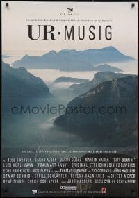 3f068 UR-MUSIG Swiss 1993 Rees Gwerder, Jakob Alder, great image of mountains in Switzerland!