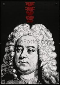 3g491 HANDEL FESTIVAL OF THE GERMAN DEMOCRATIC REPUBLIC 23x32 East German special poster 1990