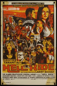 3g068 HELL RIDE #227/250 24x36 art print 2008 motorcycle gang, Michael Madsen by Tyler Stout!