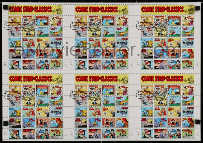 Comic strip classics stamps apologise, but