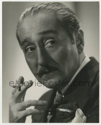 3h078 ADOLPHE MENJOU deluxe 8x10 still 1937 smoking head & shoulders portrait by Ernest A. Bachrach!
