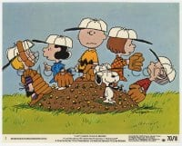 3h032 BOY NAMED CHARLIE BROWN 8x10 mini LC #3 1970 Charles Schulz, Snoopy & Peanuts gang, baseball!