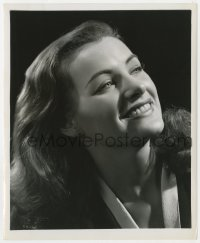 3h280 ELLA RAINES 8.25x10 still 1949 close smiling portrait for RKO by Ernest A. Bachrach!
