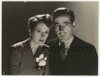 3h585 MALTESE FALCON deluxe 7.25x9.5 still 1941 c/u of Humphrey Bogart & Mary Astor by Longworth!