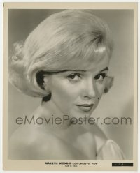 3h003 MARILYN MONROE 8x10 still 1960 head & shoulders portrait with bare shoulders, Let's Make Love!