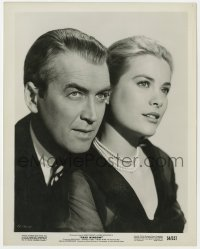 3h759 REAR WINDOW 8x10.25 still 1954 Hitchcock, portrait of beautiful Grace Kelly & James Stewart