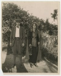3h764 RESTLESS SEX 8x10 still 1920 great posed portrait of Marion Davies & Carlyle Blackwell!
