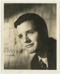 3h769 RICHARD LONG deluxe 8x10 still 1940s head & shoulders portrait of the handsome actor!