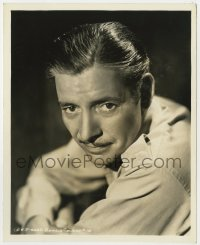 3h782 RONALD COLMAN deluxe 8.25x10 still 1936 A.L. Schafer portrait about to make Lost Horizon!
