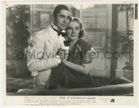 3h783 ROSE OF WASHINGTON SQUARE 7.75x10 still 1939 best portrait of Alice Faye & Tyrone Power!