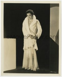 3h791 SAFETY IN NUMBERS 8x10 still 1930 portrait of Kathryn Crawford in evening gown by Richee!
