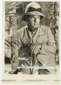 3h797 SANDERS OF THE RIVER 6.5x9.5 still 1935 great portrait of Leslie Banks in the title role!