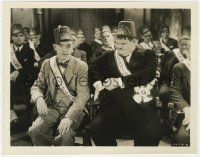 3h828 SONS OF THE DESERT 8x10.25 still 1933 c/u of Stan Laurel & Oliver Hardy at convention!