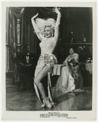 3h019 THERE'S NO BUSINESS LIKE SHOW BUSINESS 8x10.25 still 1954 sexiest Marilyn Monroe performing!