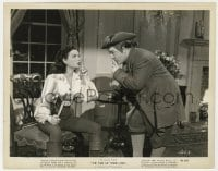 3h893 TIME OF THEIR LIVES 8x10.25 still 1946 Lou Costello & Marjorie Reynolds shush each other!
