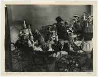 3h968 WIZARD OF OZ 8x10.25 still 1939 Judy Garland & top cast in Merry Old Land of Oz number, rare!