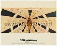 3h026 2001: A SPACE ODYSSEY Cinerama color English FOH LC 1968 Stanley Kubrick, astronaut in ship!