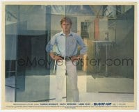 3h031 BLOW-UP color English FOH LC 1967 cool portrait of photographer David Hemmings, Antonioni!