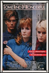 3j825 SOME KIND OF WONDERFUL int'l 1sh 1986 John Hughes, Eric Stoltz, Mary Stuart Masterson, Lea Thompson