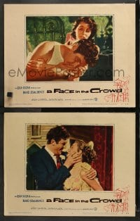 3k830 FACE IN THE CROWD 2 LCs 1957 power-hungry preacher Andy Griffith, Patricia Neal, Elia Kazan!