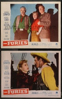 3k840 FURIES 2 LCs 1950 Barbara Stanwyck, Walter Huston, Anthony Mann directed!