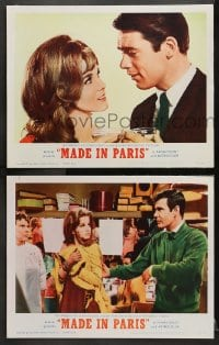 3k883 MADE IN PARIS 2 LCs 1966 sexy Ann-Margret, Chad Everett, John McGiver!