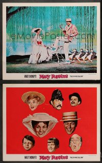 3k886 MARY POPPINS 2 LCs 1964 Disney musical classic, Dick Van Dyke, Julie Andrews