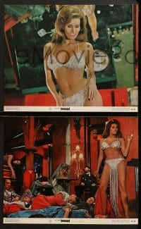 3k055 BEDAZZLED 8 color 11x14 stills 1968 classic fantasy, Dudley Moore & sexy Raquel Welch as Lust